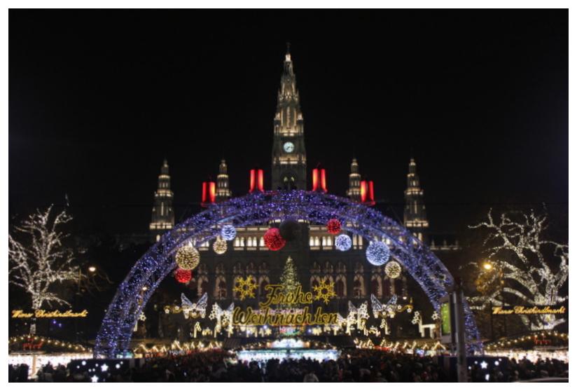 Austria Vienna Christmas Market Rathaus Town Hall.JPG