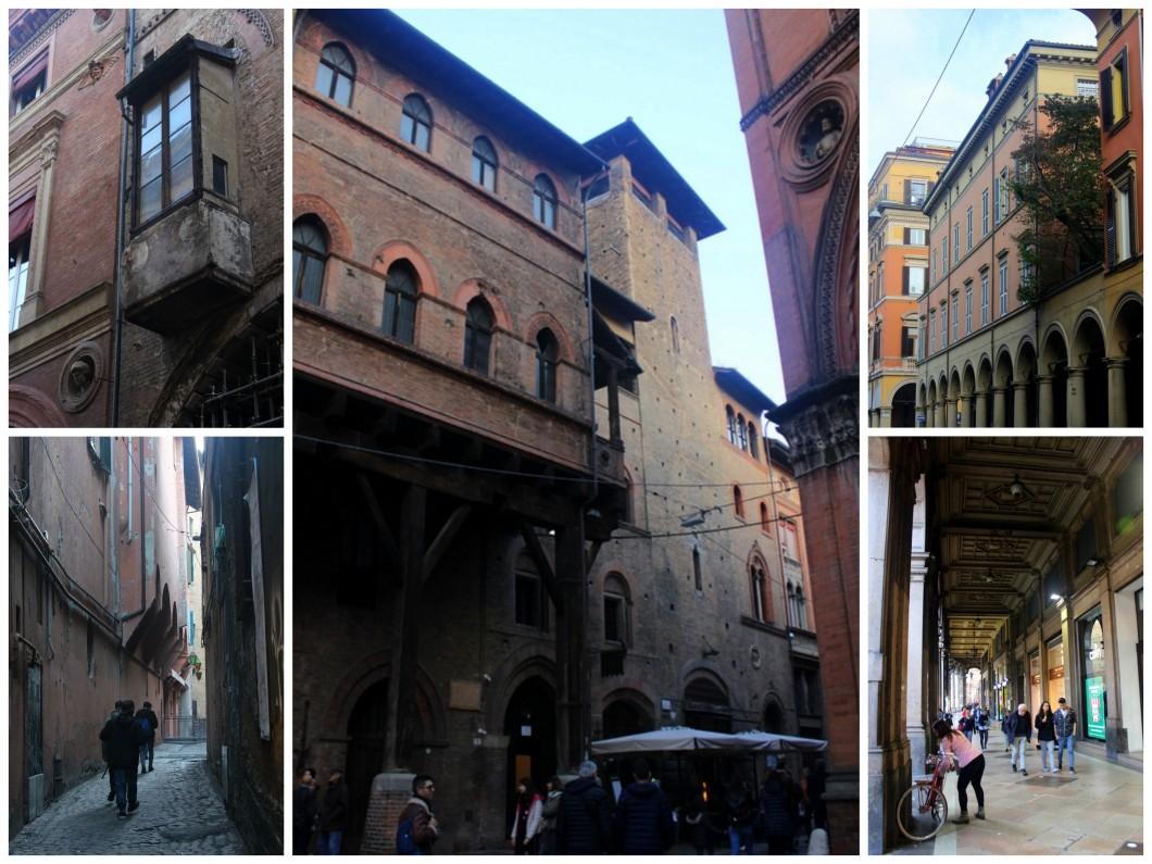 Italy Bologna porticos