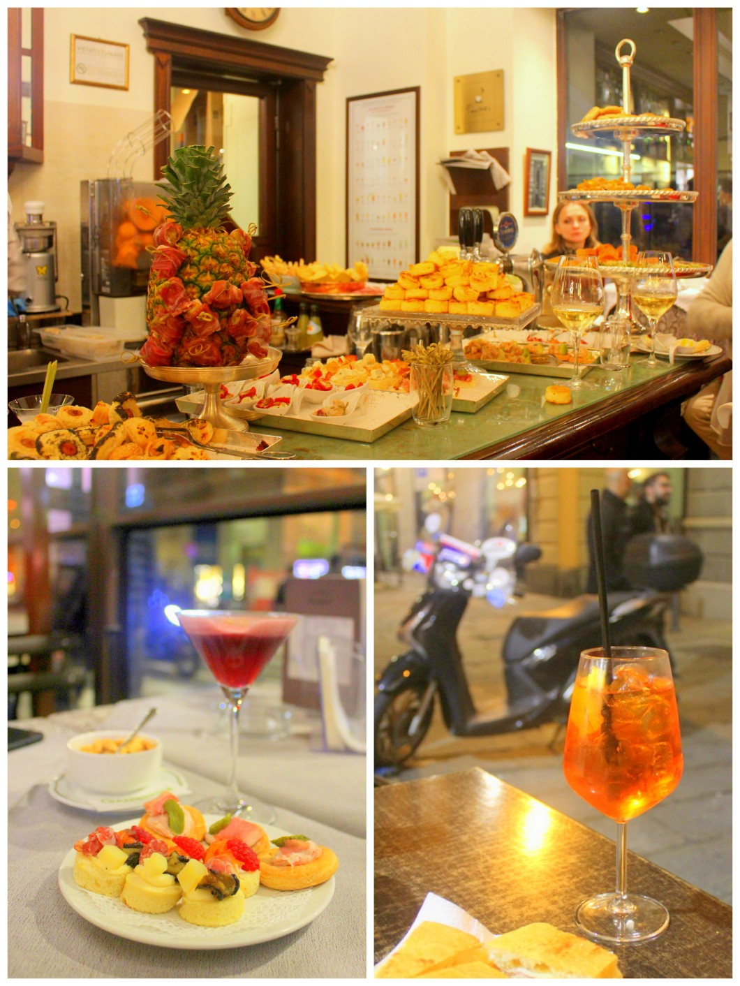 Bologna Italy Must Try Eat Drink Aperitivo Spritz