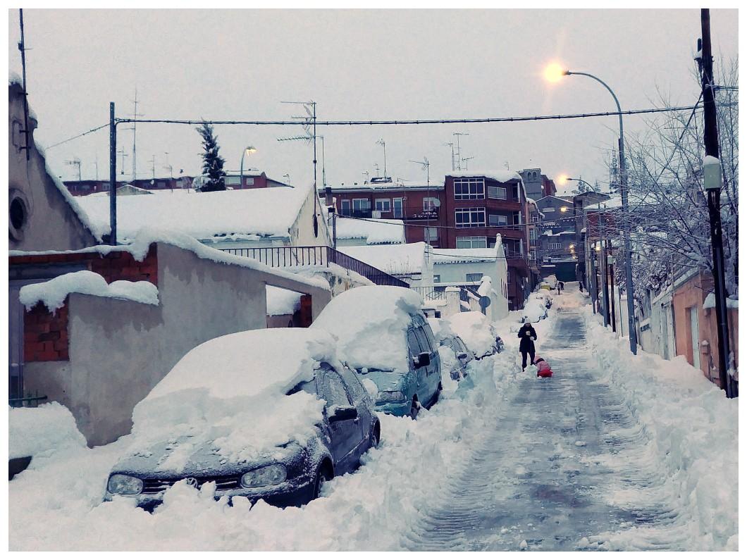 Spain Avila snow street.jpg