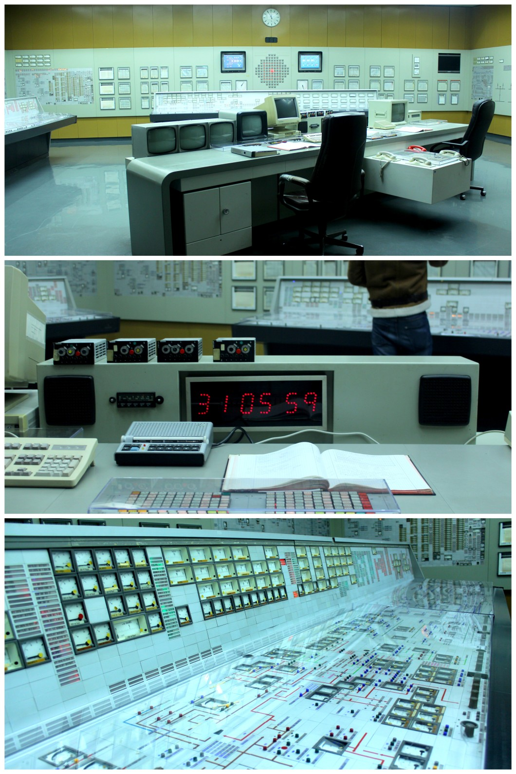 Zwentendorf nuclear power plant control room